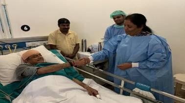 Nirmala Sitharaman informed nobody about visiting Shashi Tharoor in hospital: Report
