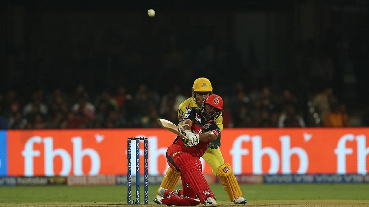 Parthiv Patel was the standout performer for Bangalore, he scored 53 of 37 balls. (Image: BCCI, iplt20)