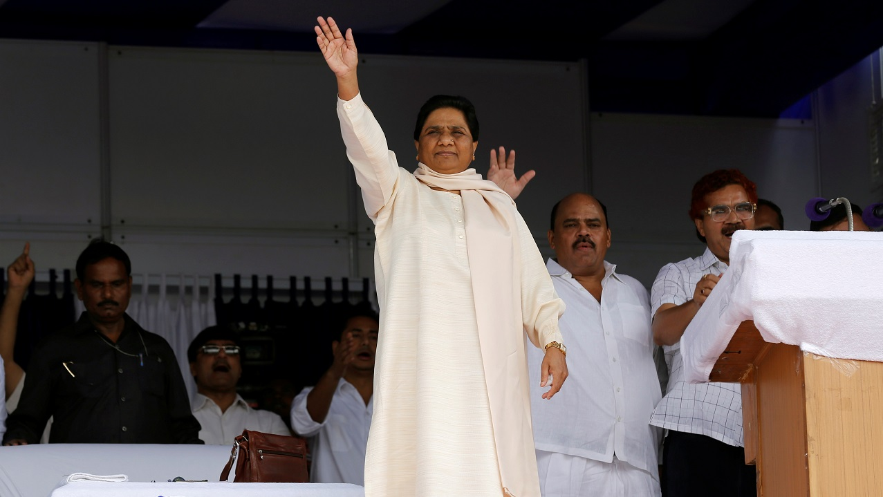 """Mayawati: The Bahujan Samaj Party (BSP) chief announced on March 21 that she would not be contesting the forthcoming polls. The Uttar Pradesh satrap said that it was a """"sacrifice"""" for the larger goal of uprooting the BJP government. (Image: Reuters)"""