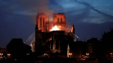 YouTube links Notre-Dame fire to 9/11 attacks by mistake