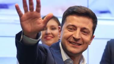 Comedian Volodymyr Zelenskiy wins Ukrainian presidential race by landslide