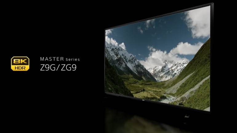 Sony launches a 98-inch 8K OLED TV that costs more than the Audi A4