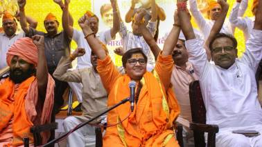 Politics | Pragya Thakur is the real issue in this election