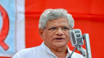 Govt enthusiastic about tax cuts for super rich but shows no concern for slowdown: Sitaram Yechury