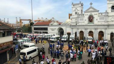 100 killed, over 400 injured as 6 blasts hit three churches, three five-star hotels in Sri Lanka