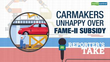 Carmakers unhappy over FAME-II subsidy