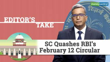 Editor's Take | SC quashes RBI's February 12 circular