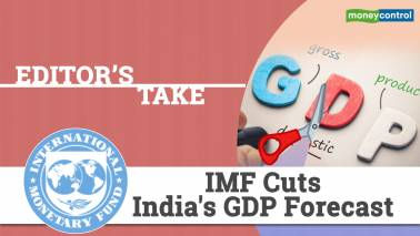 Editor's Take | IMF cuts India's GDP forecast