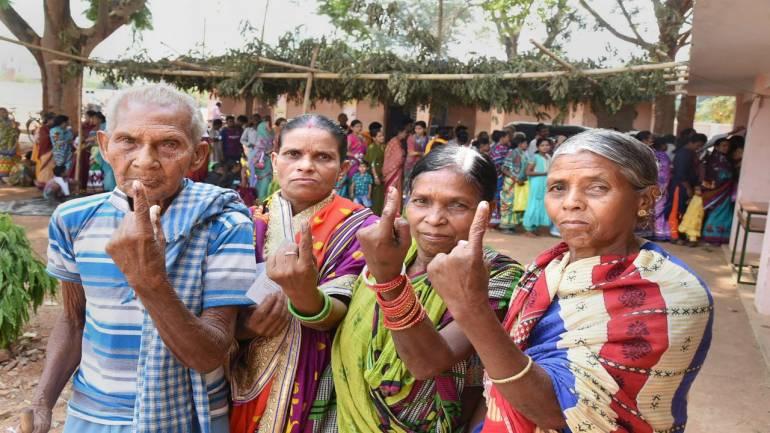 69% voting in three LS constituencies in Chhattisgarh