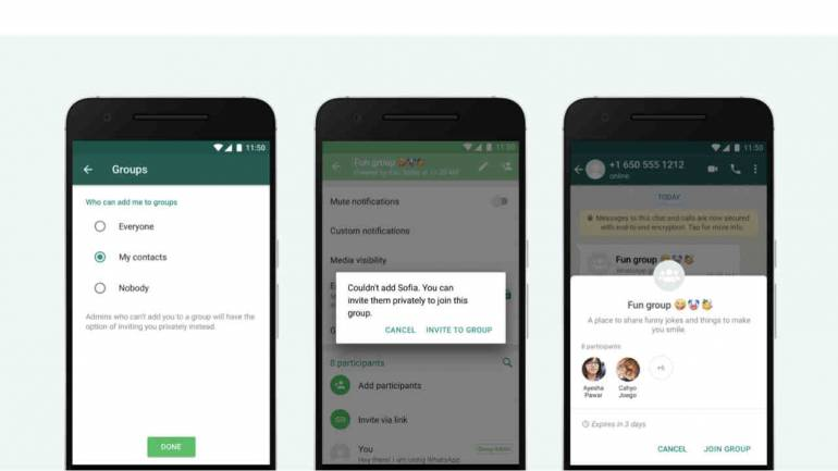 WhatsApp new Privacy setting prevents users from getting added to random  groups
