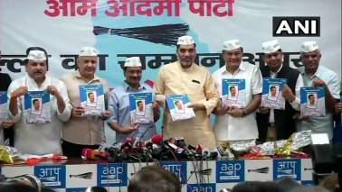Full statehood main theme of AAP manifesto, promises 85% reservation in colleges, jobs