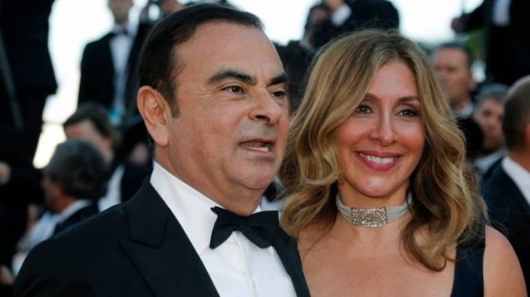 Carlos Ghosn's wife leaves Japan to appeal to French government: Report
