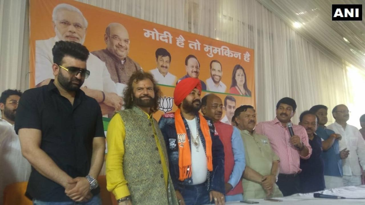 Daler Mehndi | Profession - singer | The popular singer and entertainer joined the BJP on April 26 (Image: ANI)