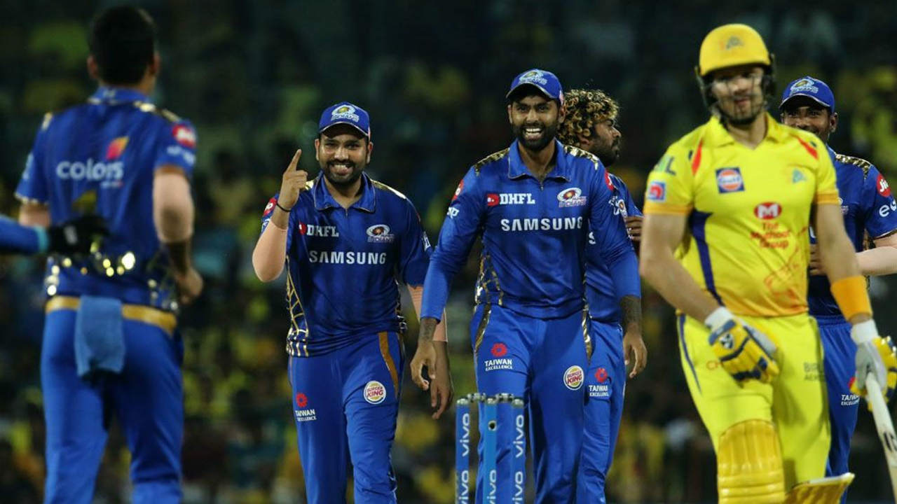 Lasith Malinga got Mumbai off to a great start as he got rid of the dangerous Shane Watson in the very first over. (Image: BCCI, iplt20.com)