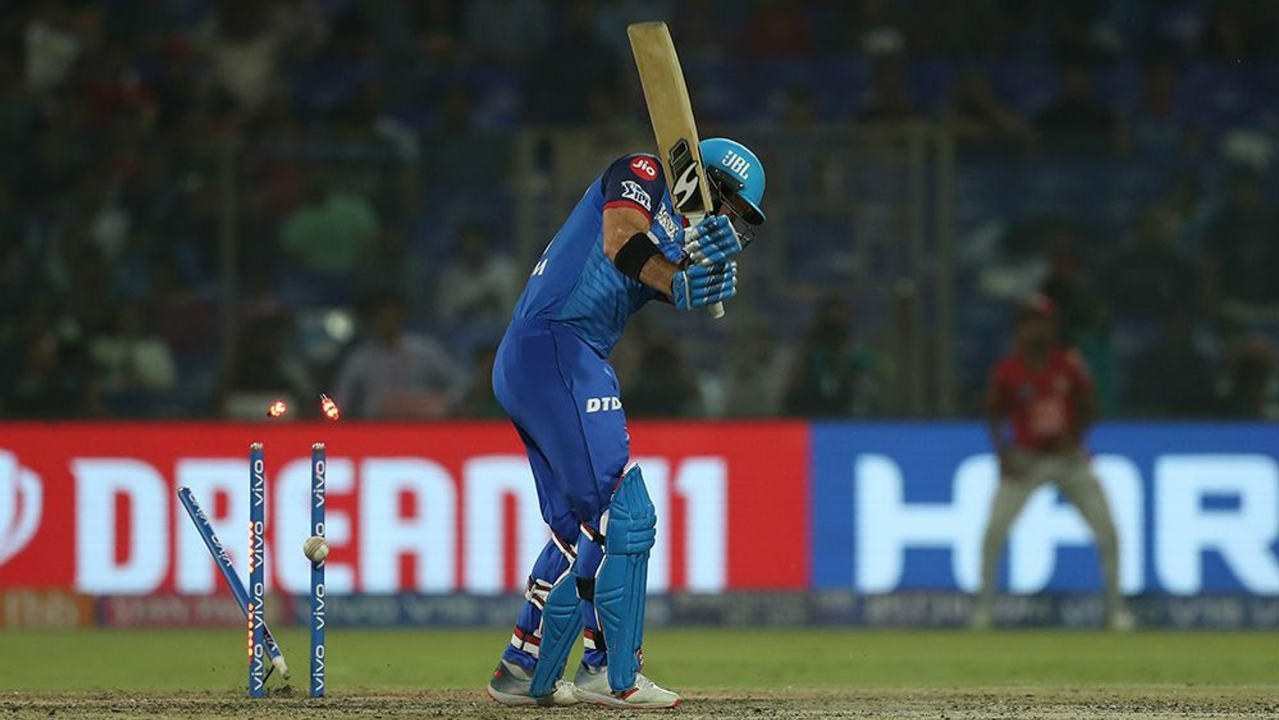 Colin Ingram added 27 runs off 20 deliveries with Iyer before Mohammed Shami castled with a pinpoint yorker in the 19th over. Axar Patel was then run out on the next delivery as memories of Delhi's spectacular collapse from a winning position at Mohali resurfaced. (Image: BCCI, iplt20.com)