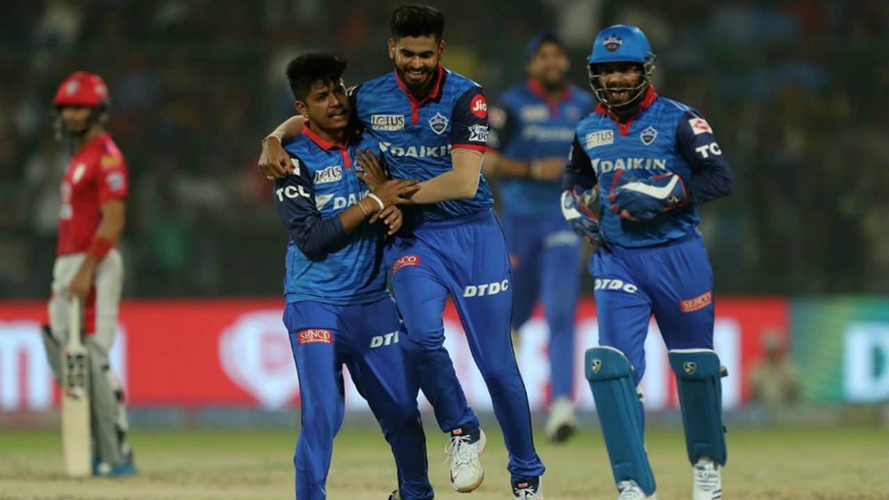 Sam Curran was sent back on a duck by Lamichhane who finished with 3/40. Mandeep Singh scored a fighting 30 off 27 balls before becoming Axar's second victim of the night in the 17th over. Rabada then took his season's tally up to 21 wickets when he got rid of R Ashwin in the 19th over. Harpreet Brar added a quick 20 off 12 balls as KXIP finished with 163/7. (Image: BCCI, iplt20.com)
