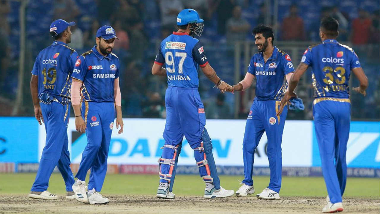 Keemo Paul was run out by Bumrah at the start of the 18th over and the bowler then castled Axar with the very next ball. MoM Hardik Pandya then capped a brilliant performance when he got Kagiso Rabada caught out in the final over. Delhi finished with just 128/9 as Mumbai won by 40 runs. The win took Mumbai up to second spot on the table with Delhi moving down to third. (Image: BCCI, iplt20.com)