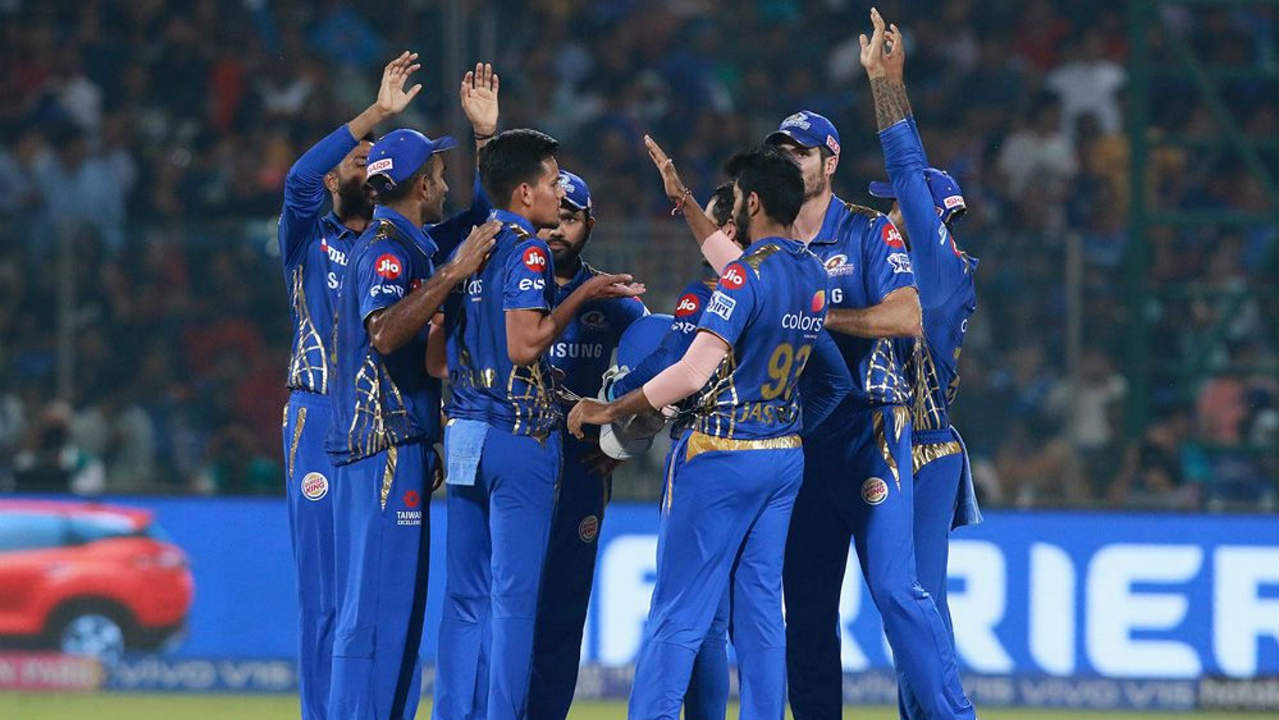 Delhi then lost three quick wickets as Mumbai gained a firm grip on the match. Krunal Pandya got rid of Colin Munro (3) in the 10th over. Chahar then castled Shreyas Iyer (3) with a beautiful delivery in the next over and Jasprit Bumrah castled Rishabh Pant (7) in the 14th over. Delhi were down to 76/5 when Pant walked back. (Image: BCCI, iplt20.com)