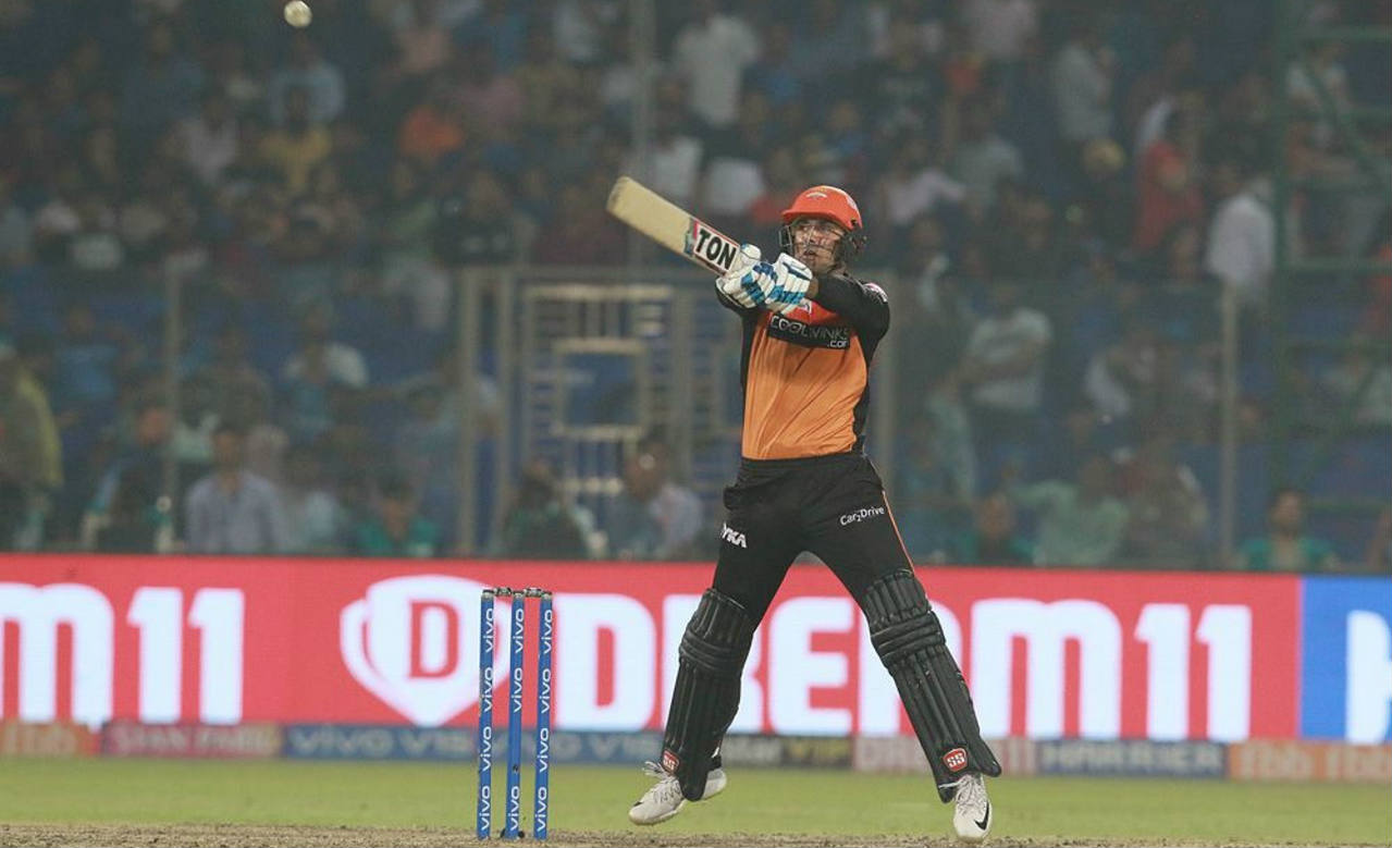 Mohammed Nabi then took charge of proceedings and scored an unbeaten 17 off 9 balls sealing victory with a six off Rabada in the 19th over. Sunrisers won by 5 wickets with 9 balls remaining. The win took Sunrisers to the top of the points table with six points from their first four games while leaving Delhi in fifth position. (Image: BCCI, iplt20.com)