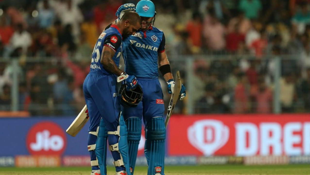 With just 4 runs required from 8 balls Colin Ingram finished the game off with a massive six meaning Dhawan would have to wait longer for his maiden T20 century. Man of the Match Dhawan finished unbeaten on 97 off 63 as Delhi won by 7 wickets. The win took Delhi up to second spot on the points table. (Image: BCCI, iplt20.com)