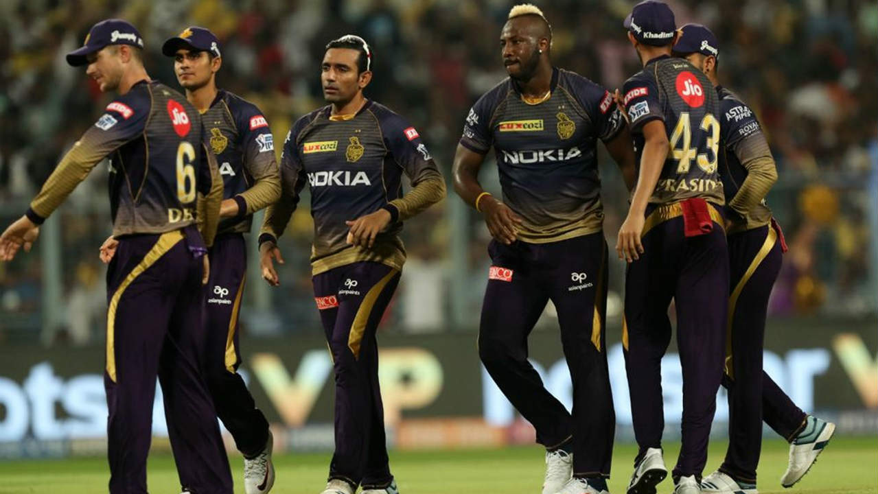 Delhi skipper Shreyas Iyer then walked out and made just 6 runs before getting caught behind on an Andre Russell delivery in the 6th over. Delhi were reduced to 57/2 when Iyer walked back. (Image: BCCI, iplt20.com)