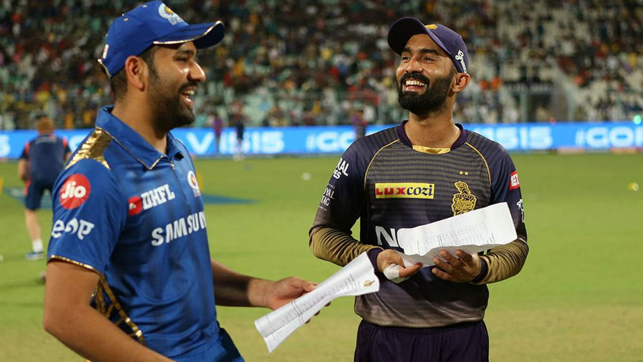 Kolkata Knight Riders (KKR) who were on a six-match losing streak welcomed the Mumbai Indians (MI) to the Eden Gardens for match 47 of the 2019 IPL. Coming into this game KKR had lost their previous 8 matches against MI and their last 4 matches at home. Barinder Sran was given his MI debut as Rohit Sharma won the Toss and opted to bowl. (Image: BCCI, iplt20.com)
