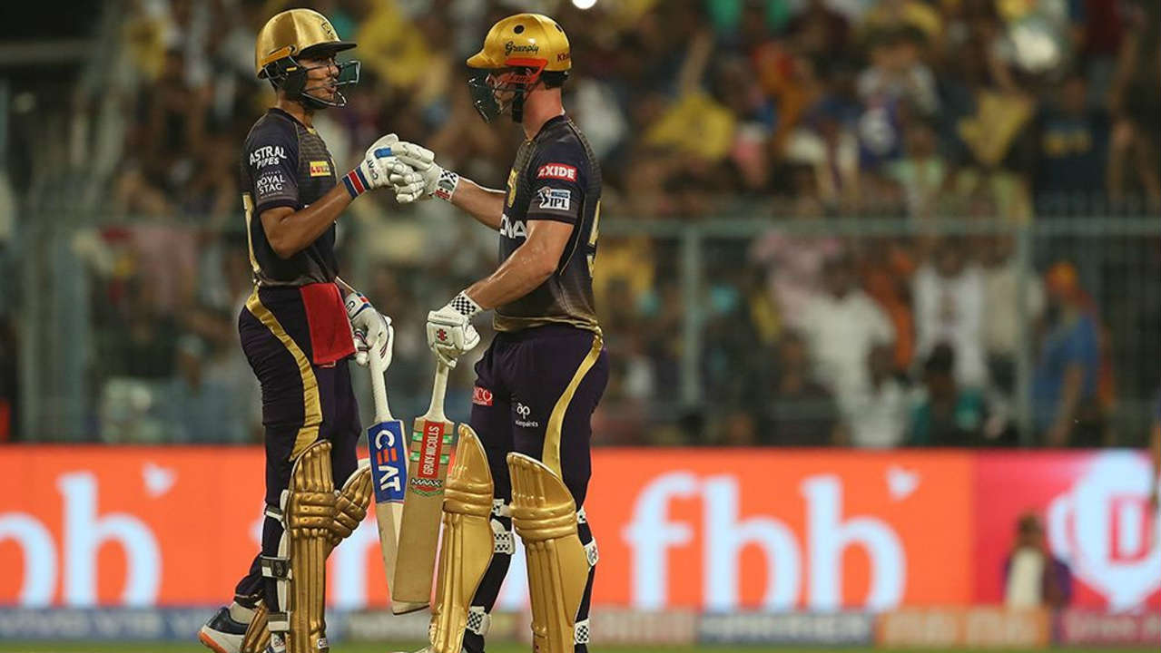 KKR got off to a great start with Shubman Gill and Chris Lynn adding 96 runs off just 57 balls for the first wicket. (Image: BCCI, iplt20.com)