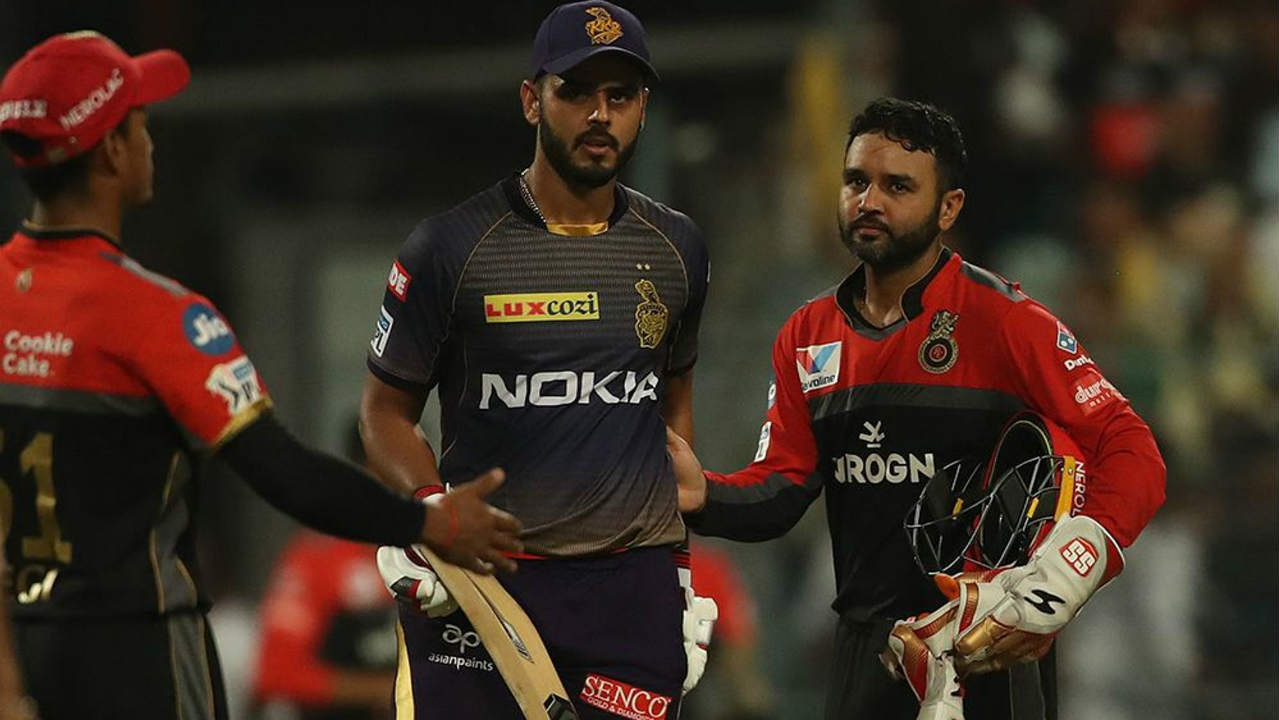 Together, Russell and Rana added 118 runs off just 48 balls to take KKR to within touching distance of victory. Russell finished with 65 off just 25 balls and Nitish Rana finished on 85* off 46 as Kolkata fell short of 10 runs. KKR finished with 203/5. (Image: BCCI, iplt20.com)