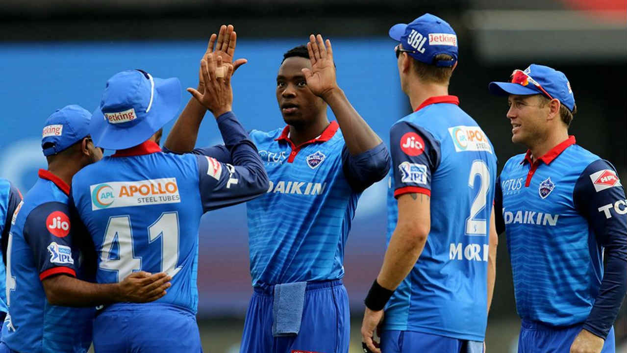 Rabada then stormed to the top of the wicket-takers charts with a brilliant 18th over as he got the wickets of Kohli, Akshdeep Nath and Pawan Negi while giving away just 5 runs. Kohli was caught out at long-off off the 1st delivery and both Nath and Negi were caught behind off the 3rd and 6th ball respectively. Rabada finished with 4/21 as RCB could only manage to reach 149/8. (Image: BCCI, iplt20.com)