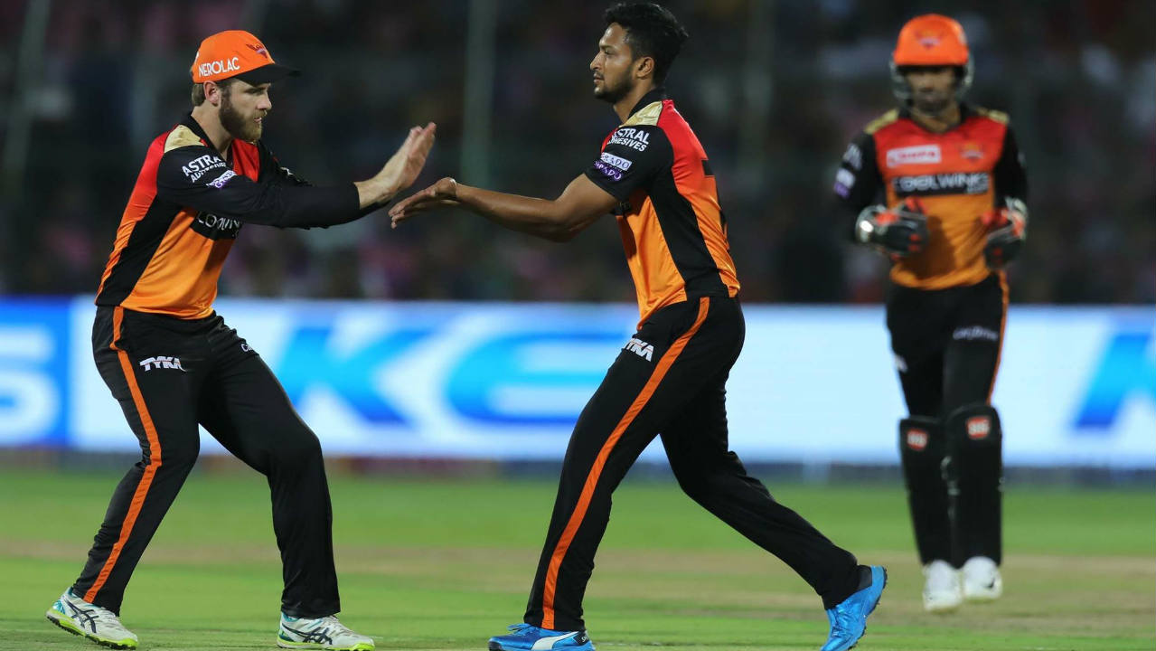 Shakib Al Hasan then sent back Rahane in the 12th over as the RR opener found Warner while looking for a boundary. Rahane returned with 39 off 34 balls. RR were well placed at 93/2 needing 68 runs from 45 balls when Rahane departed. (Image: BCCI, iplt20.com)