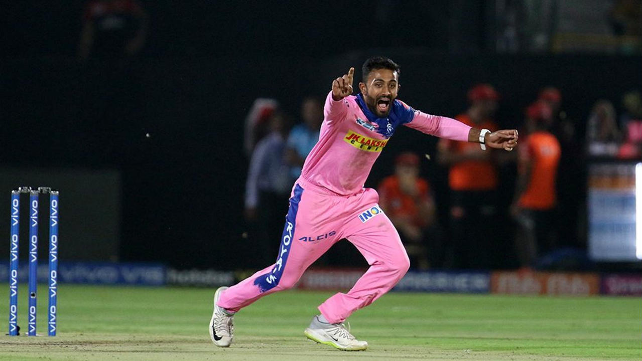 Rank | Shreyas Gopal (Rajasthan Royals)| Wickets: 14 | Matches: 12 | Economy rate: 7.28 (Image: BCCI, iplt20.com)