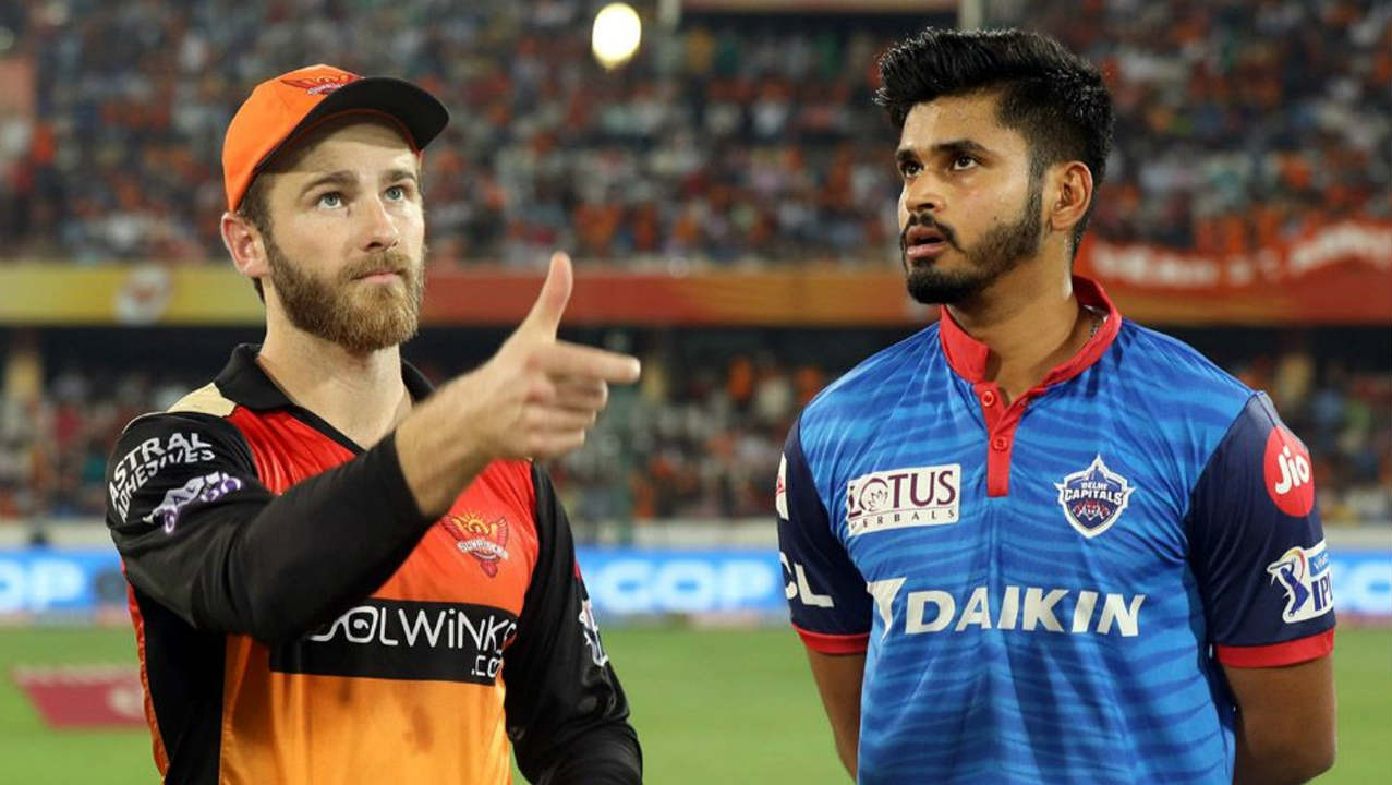 Sunrisers Hyderabad (SRH) hosted the Delhi Capitals (DC) for match 30 of the 2019 Indian Premier League (IPL). Hyderabad made four changes to their side with the most notable being Kane Williamson returning to captain the side. Delhi made two changes with Colin Munro and Amit Mishra coming into the side. Hyderabad won the Toss and opted to bowl. (Image: BCCI, iplt20.com)