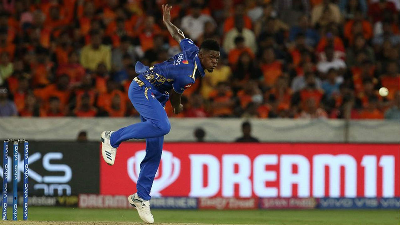 1. Alzarri Joseph | Mumbai Indians | BBM: 6/12 | The 22-year-old West Indian began his IPL career with a wicket-maiden wherein he castled David Warner on his very first delivery. He then dismissed Vijay Shankar in his next over before returning to bowl the 16th where he dismissed Deepak Hooda and Rashid Khan off consecutive balls. Alzarri then wrapped up the innings when he got rid of Bhuvneshwar Kumar and Siddarth Kaul in the penultimate over finishing with figure of 3.4-1-12-6. (BCCI, iplt20.com)