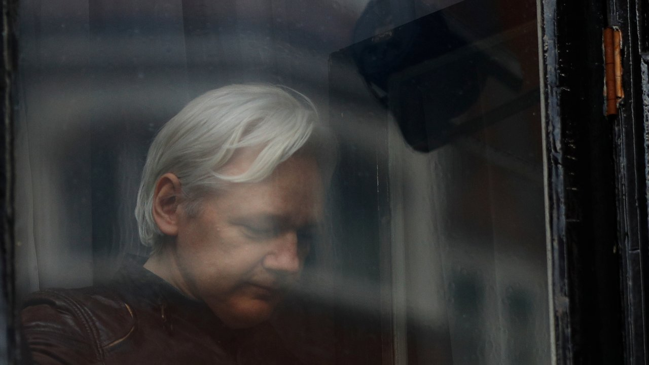 April 2019: Ecuador withdraws asylum from Julian Assange for repeatedly violating international conventions and protocol of coexistence, according to a tweet. He is soon arrested by the Metropolitan Police of London. (Image: Reuters)
