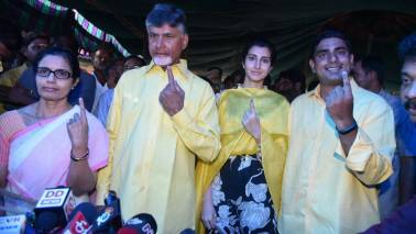 Andhra Pradesh CM Chandrababu Naidu claims technical snags in EVMs obstructed voting, demands re-polling