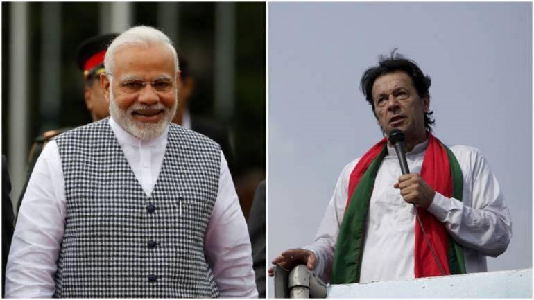 PM Modi and his Pakistani counterpart