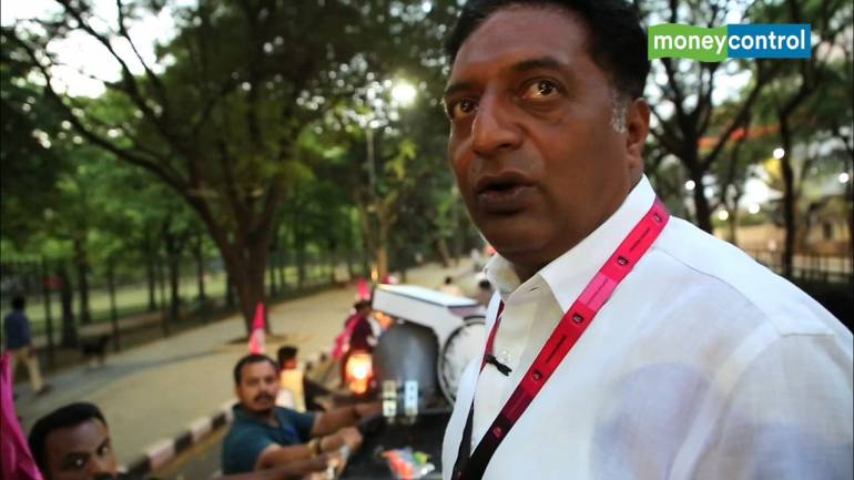 Why is Modi government taking credit for scientists, soldiers' work, questions Prakash Raj