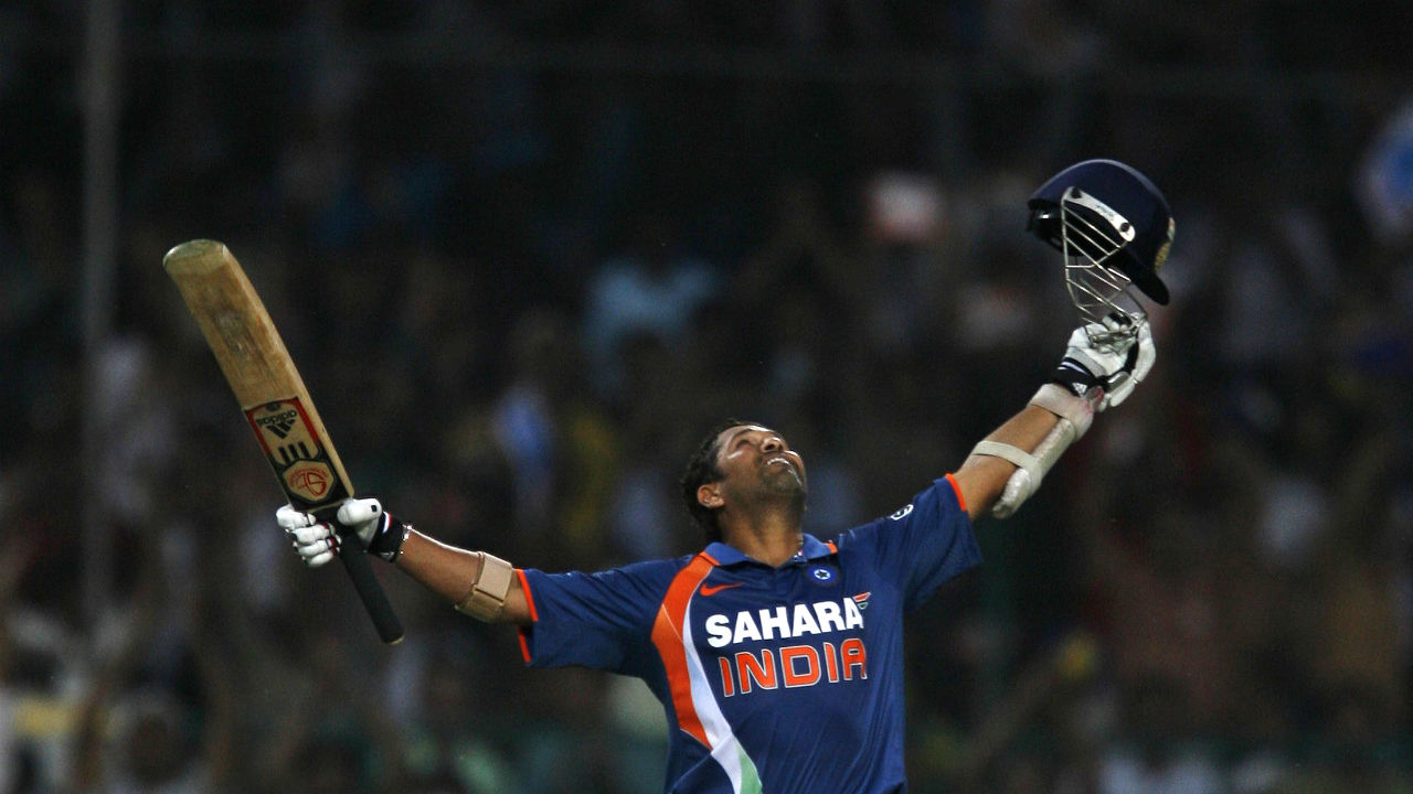 Sachin scored the first double century in ODIs when he finished with an unbeaten 200 against South Africa in 2010. The same year he was also named Player of the Tournament in IPL 3 finishing as the top-scorer. (Image: Reuters)