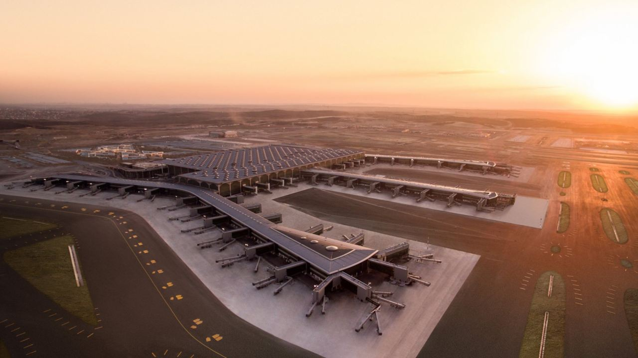The new airport will help Turkish Airlines, the country's flag carrier, to expand its operations. (Image: Istanbul Airport website)