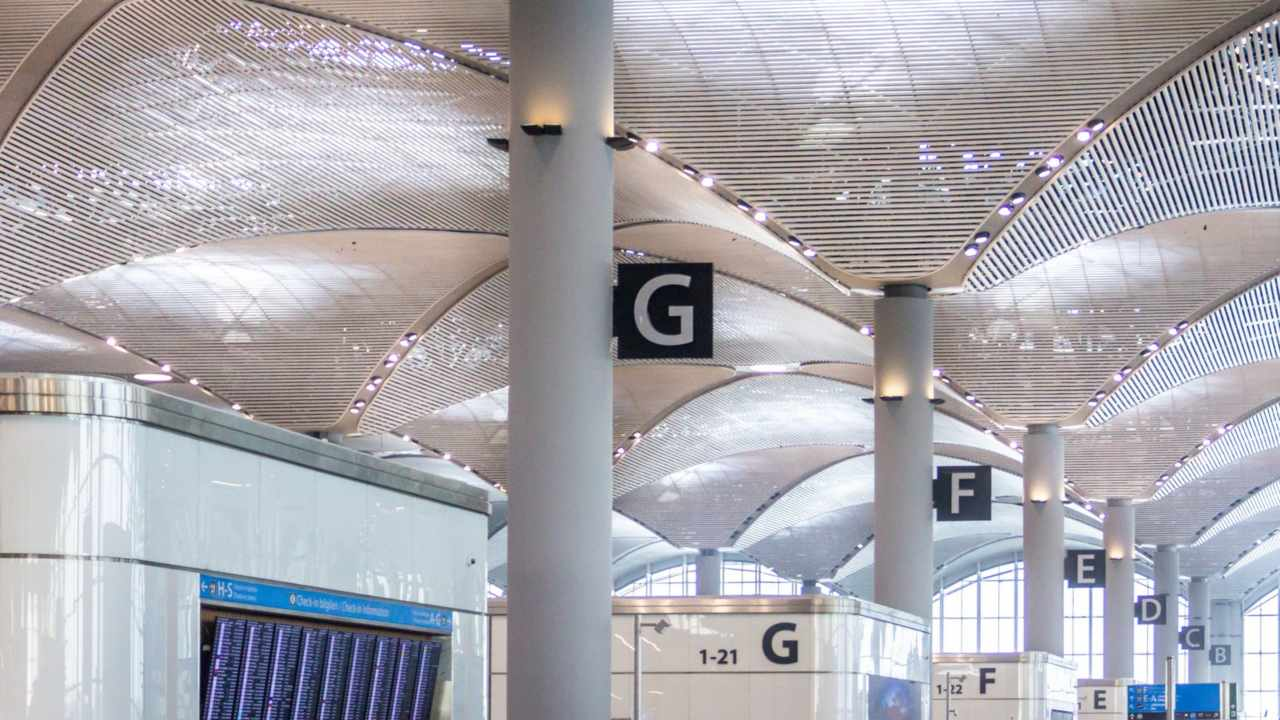 The airport was inaugurated almost six months ago, but it was handling less than 20 flights a day. (Image: Istanbul Airport's website)