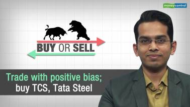 Buy or Sell | Trade with positive bias; buy TCS, Tata Steel