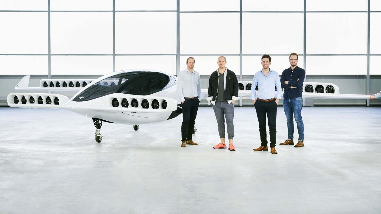 German startup conducts successful test of a flying taxi - here are some pictures