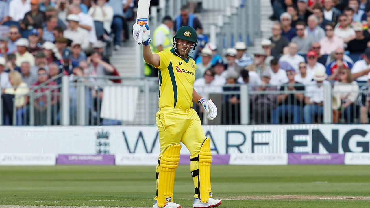 Aaron Finch (Australia) |Playing role: Top-order batsman |Stats: Matches: 109| Innings: 105 | Runs: 4052 | Highest: 153* | Average: 39.33 | Strike Rate: 88.16 | 100s/50s: 13/21 (Image: Reuters)