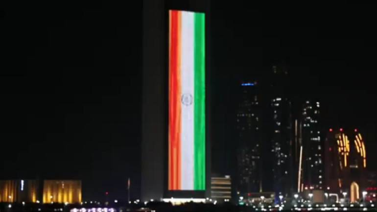 UAE govt marks Modi's swearing-in ceremony by lighting up iconic ADNOC  building