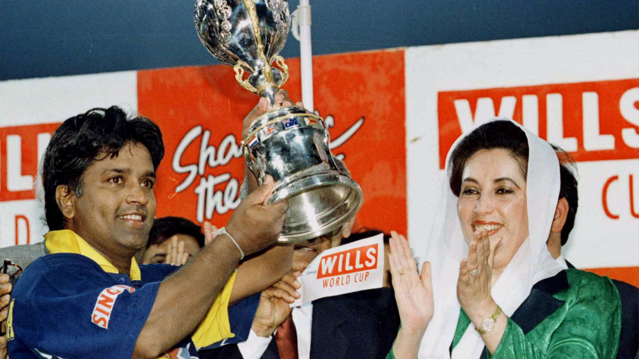 Arjuna Ranatunga (1996) | World Cup returned to Indian sub-continent in 1996 as India, Pakistan and Sri-Lanka co-hosted the event for the second time.
