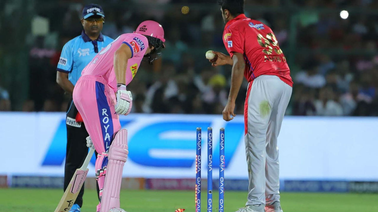 Ashwin-Buttler 'Mankading' controversy | The fiasco between R Ashwin and Jos Buttler is the most controversial moment of IPL 2019. Such was the enormity of the situation that it split the cricket world in two halves.