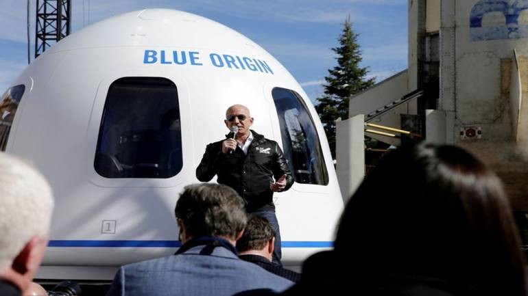 Jeff Bezos' Blue Origin Space Venture Unveils Lunar Lander, Rover, and Rocket