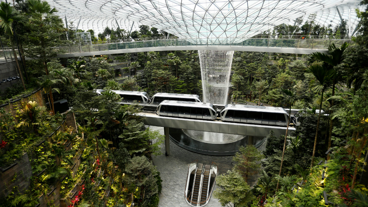 7. Changi Airport, Singapore: This is not only Singapore's premier airport but is also considered as the largest transportation hub in Southeast Asia. It serves as the hub for Singapore Airlines, Scoot and SilkAir, among others and has been consistently ranked as one of the best airports on various rankings. (Image: Reuters)
