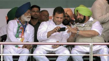 Lok Sabha Polls 2019: Rahul Gandhi a fine leader, Congress will bounce back, says Amarinder Singh