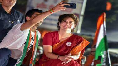 Priyanka Gandhi invokes Delhi roots, challenges PM Modi to fight elections on false promises